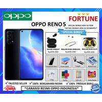 OPPO RENO 5 8/128GB GARANSI RESMI - FANTASY SILVER, NO BONUS