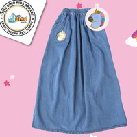 ROK JEANS ANAK SOFTJEANS LITTLE DINO - Blue jeans, S