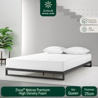 Zinus® Kasur 25 cm Premium High Density Foam - Ukuran Queen