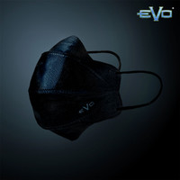 Masker Evo Plusmed 4D Full Black Edition Limited