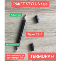 STY-014 2 in 1 Stylus & Pencil Tulis Ujung Universal Iphone Android - PAKET STYLUS SJ
