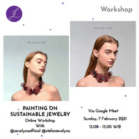 PAINTING ON SUSTAINABLE JEWELRY