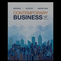 contemporary business 18th edition