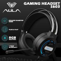 Headset Gaming AULA S603 – RGB Breathing