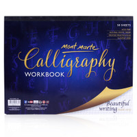 MONT MARTE CALLIGRAPHY BOOK 50 SHEETS