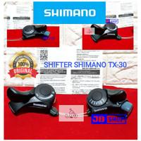 SHIFTER DERAILLEUR OPERAN GIGI SEPEDA SHIMANO 21 SPEED 7 X 3 ORIGINAL