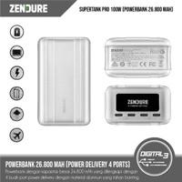 Zendure SuperTank Pro 26,800mAh Power Bank 100W USB-C PD 4 Ports PB