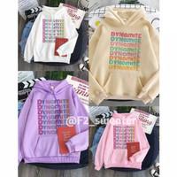F2 sweater Hoodie wanita dynamite sweater fleece sweater BTS kekinian