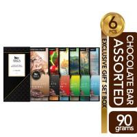 WoCA Assorted Chocolate Bar WoCA 6x90 gram
