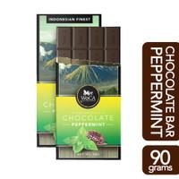 WoCA Coklat Peppermint Premium Chocolate 90 gram