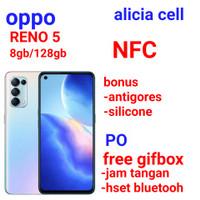 Oppo reno 5 8/128 ram8gb internal128gb resmi oppo