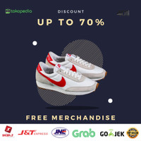 Sepatu Nike Daybreak White Swosh Red ORIGINAL - 40