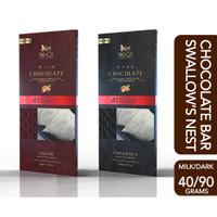 WoCA Coklat Walet Bird Swallow Nest Chocolate Bar Premium Dark or Milk