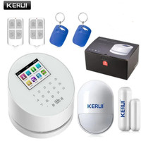 KERUI Alarm System W2 PSTN WIF Android Ios RFID