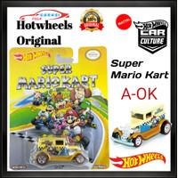 Hotwheels Retro Premium A-OK Super Mario Kart Ban Karet