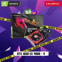COLORFUL GEFORCE GTX 1650 EX 4GD6 - V