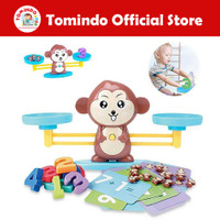 Tomindo Monkey Balance - Mainan Edukasi Anak Laki Perempuan Edukatif
