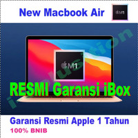 New Apple Macbook Air Chip M1 SSD256GB