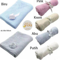 Just To You Knit Baby Blanket Selimut Rajut Bayi