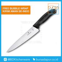 Pisau 6.8003.19B Victorinox Carving Knife 19 cm (31,5 cm) Pisau Daging
