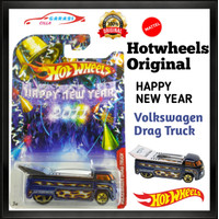 Hotwheels Diecast Volkswagen Drag Truck Happy New Year
