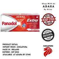 PANADOL EXTRA WITH OPTIZORB 20 TAB U/ SAKIT KEPALA SINGAPORE SINGAPURA