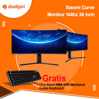 XIAOMI Mi Curved Gaming Monitor 34 inch 144Hz 3440 * 1440