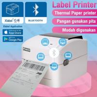 PRINTER LABEL THERMAL CETAK RESI OLSHOP IWARE BI-420UB - 110MM / A6