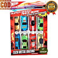 PROMO Mainan Anak 8 PCS Die-Cast Mobil Metal / Fashion Sport Car Murah