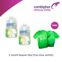 2 PCS Jointfit Reguler 35gr + Free Kaos Jointfit