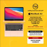 New MacBook Air 2020 13 inch M1 Chip 8 Core CPU/ 8 Core GPU/ 512GB SSD - Gold