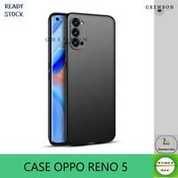 CASE OPPO RENO 5 CASING COVER OPPO RENO 5 BLACK