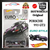 Hotwheels Diecast Porsche 993 GT2 Series Euro Style Hot Wheels