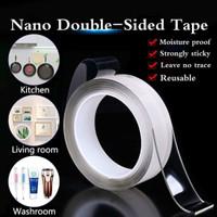 Nano Magic Tape Grip Double Tape Selotip Isolasi Panjang 5m X 30mm