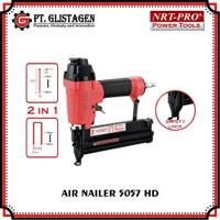 Mesin Paku Tembak Angin F50 Air Nailer Stapler 2 in 1 Nrt Pro 5057 HD