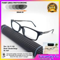 Kacamata Pria Wanita Minus Photocromic Porsche Design P6001 Per 360°