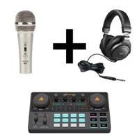 Maono AU-AM200 Podcasting Pack 1 - Portable Podcast Studio Bundle
