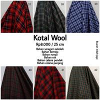 Kain Semi Wool Katun Acrylic