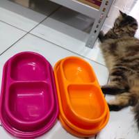 Tempat Makan Kucing / Anjing Anti Semut Double