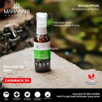 Eucalyptus Globulus 60ml - Maharani Kahiyang Essential Oil - Pump