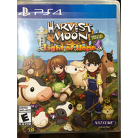 PS 4 playstation 4 game harvest moon light of hope second region all