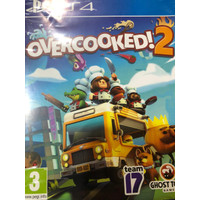 Game PS 4 playstation 4 blue ray disc overcooked!2 second mulus