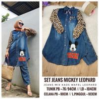 Set Jeans Mickey polka
