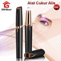 GM Bear Alat Cukur Alis Elektrik Portable 1141-Electric Eyebrow Shaver
