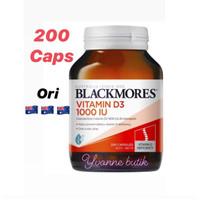 BLACKMORES VITAMIN D3 1000IU 200caps