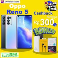 Oppo Reno 5 8GB/128GB Reno5 8 GB 128 GB Garansi Resmi Bukan Reno 4