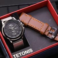 TETONIS TS610 DATE CHRONO ACTIVE FREE STRAP ORIGINAL ANTI AIR (ADA 2 )