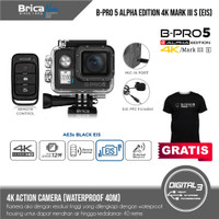 Brica B-Pro 5 Alpha Edition 4K Mark III S (AE3S) - Black EIS + Bonus