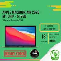 Apple MacBook Air M1 Chip 2020 512GB SSD with 8 Core CPU MGNA3