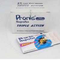 Proris ibuprofen triple action box